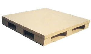 Brown colour Flat Four-Way Wooden Pallet