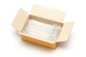 Air Column Bags In A Paper Carton