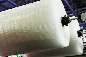 All-Electric Compact Bubble Wrap Cushioning Machine