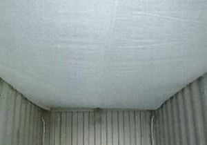 Condensation Terminator Sheet in a shipping container