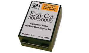 A Box of Easy-Cut 5000/6000 Blades