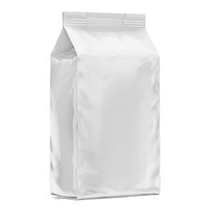 Leak-Proof White Colour Side Gusset Pouch