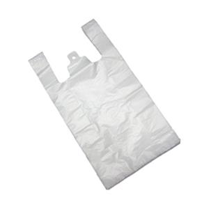 A Translucent HDPE Plastic Bag