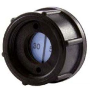 A Black Indicator For Equipment With Colour Changing Indicator Paper