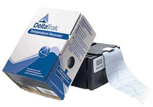 A Box Packaging Of Delta Trak Temperature Recorder
