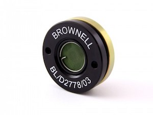 A Black And Gold Stainless Steel Brownell Outward Pressure Relief Valve (BL/D2778/03)