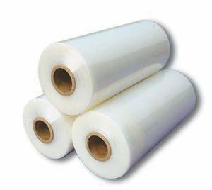 Three Rolls Of Elastic Plastic Stretch Film