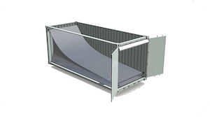 Embatuff Thermal Liner in a shipping container
