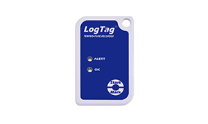 A Blue Color Log-Tag Temperature Recorder