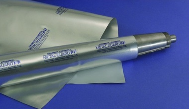 A silver colour roll of a VCI Film Metal-Guard