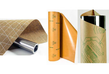 Rolls Of VCI Paper (Steel Wrap), VCI Paper (Uniwrap Woven) and VCI Scrim