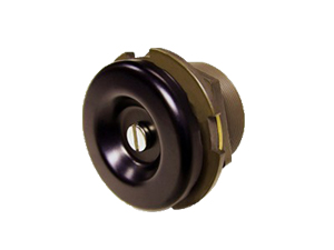 Brown And Gold Vent Breather Fitted With A Micron Filter